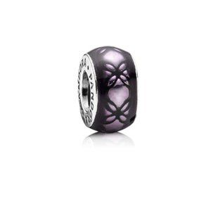 Pandora Charm: Floral Spacer